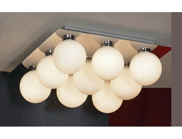 Светильник потолочный влагозащищенный Lussole LSQ-8907-09