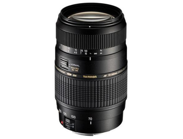 Объектив Tamron AF 70-300mm F/4-5.6 Di LD MACRO 1:2 Canon EF