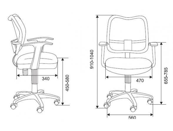 Кресло BURO CH-797/CR/15-04