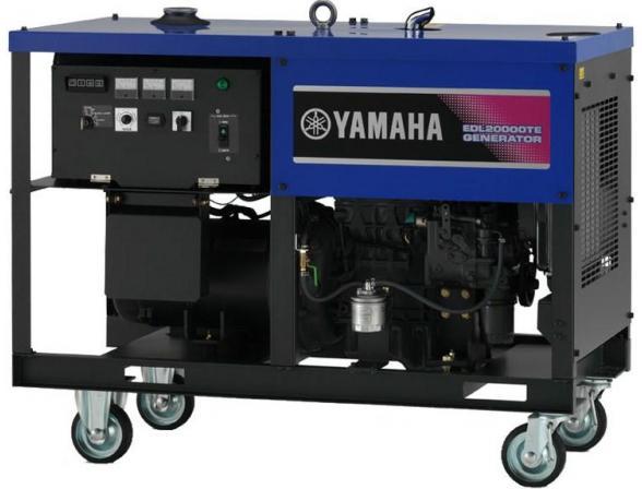 Бензогенератор Yamaha EDL20000TE