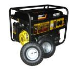 Электрогенератор Huter DY6500LX с колёсами и аккумулятором