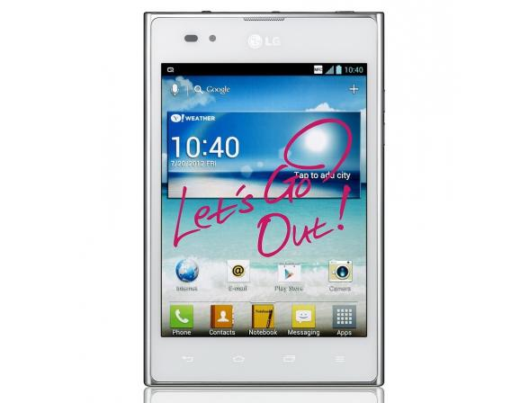 Смартфон LG P895 Optimus Vu