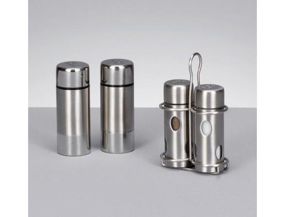 Набор для специй Zeller солонка и перечница на подст металл  27261