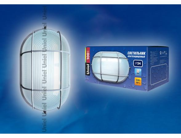 Светильник пылевлагозащищенный Uniel UWL-O-02-100-White