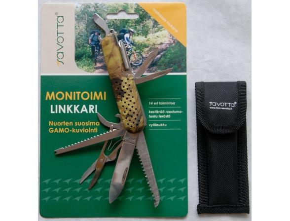 Нож многофункциональный карманный Savotta Multipurpose Jack-knife