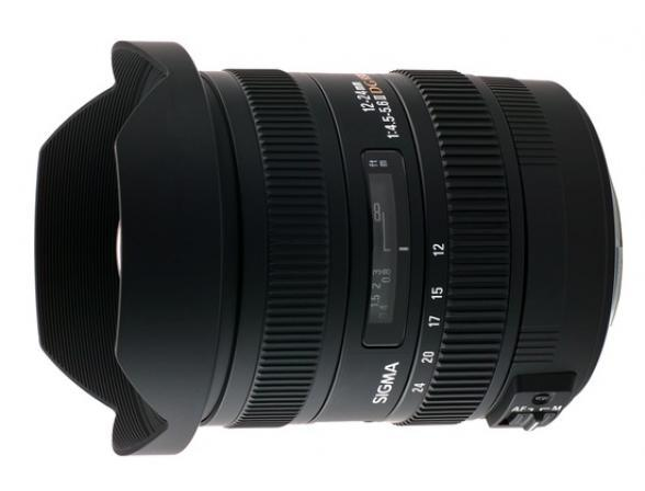 Объектив Sigma AF 12-24mm f/4.5-5.6 II EX DG ASP HSM CANON