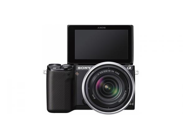 Цифровой фотоаппарат Sony Alpha NEX-5RK Kit 18-55 Black