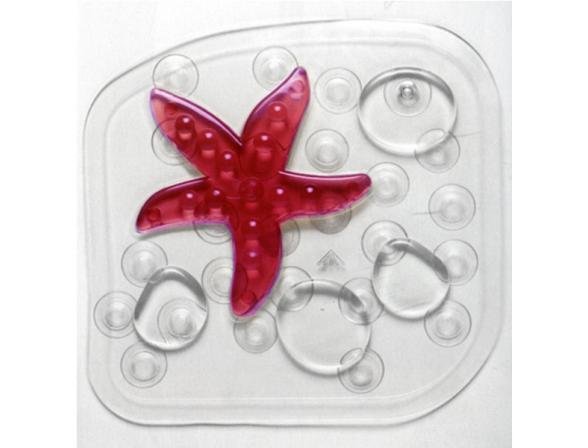 Коврик для ванной Bacchetta Mini mat Star fucsia