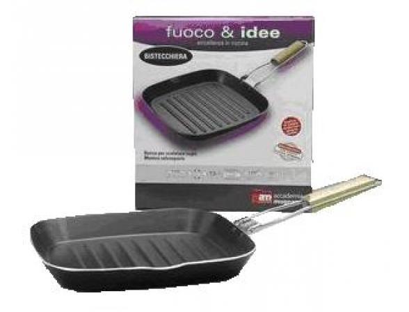 Сковорода-гриль Аccademia Mugnano Fuoco&Idee 30х30см
