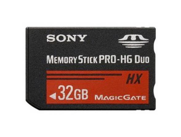 Флэш память Sony 32GB Memory Stick Pro Duo High Speed