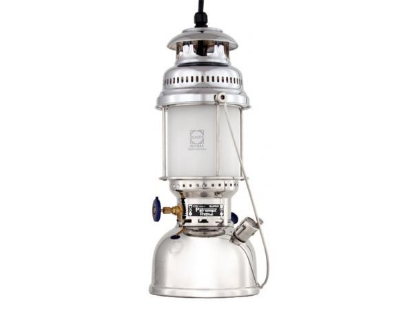 Лампа электрическая подвесная Petromax 500HK Chrome Electro