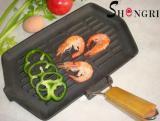 Сковорода-гриль SHENGRI SR005 21х35см
