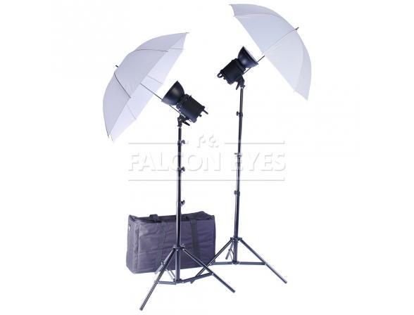 Комплект студийного света FALCON EYES QLBK-500