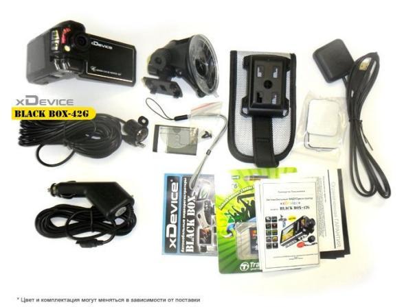 Видеорегистратор xDevice BlackBox-42G