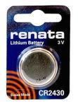 Батарейка Renata CR2430-1BL (10/100)
