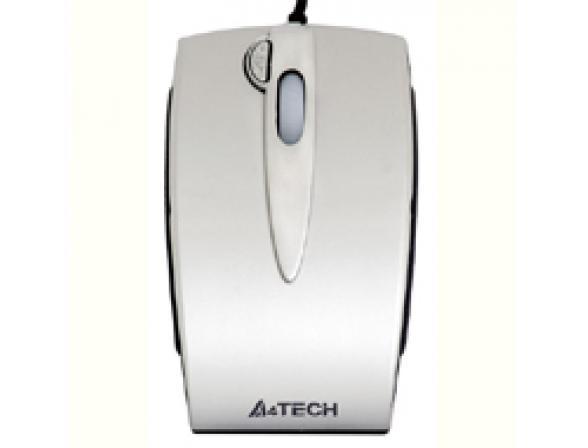 Мышь A4 TECH K4-59MD-2, Silver