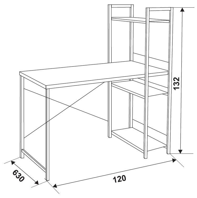 Стол компьютерный fy gd-011/black - цена, характеристики, оп.