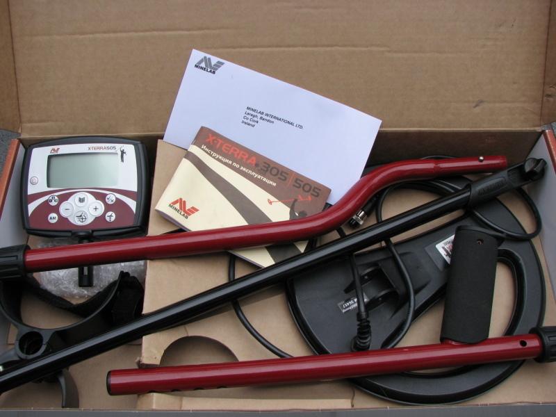 Металлоискатель minelab x-terra 505 - цена, характеристики, .