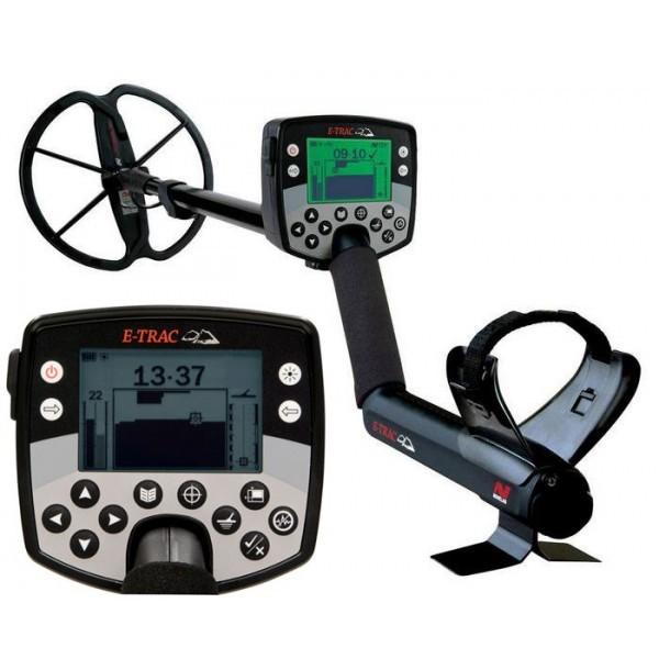 Металлоискатель minelab e-trac - цена, характеристики, описа.