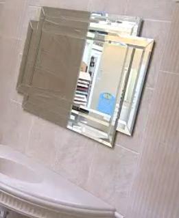 Зеркало с зеркальным обрамлением