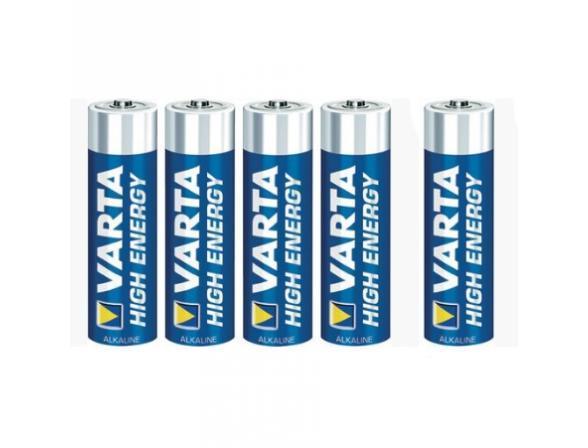 Батарейка Varta HIGH ENERGY AA бл 4+1