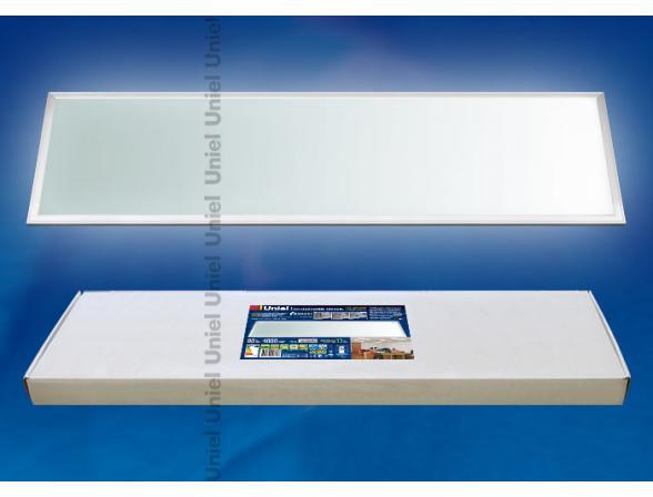Светильник потолочный Uniel ULP-30120-80/NW/RC-DIM SILVER