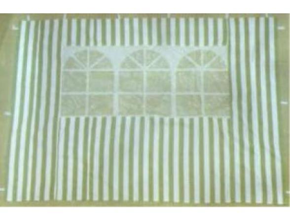 Стенка с окном для садового тента Green Glade 4120
