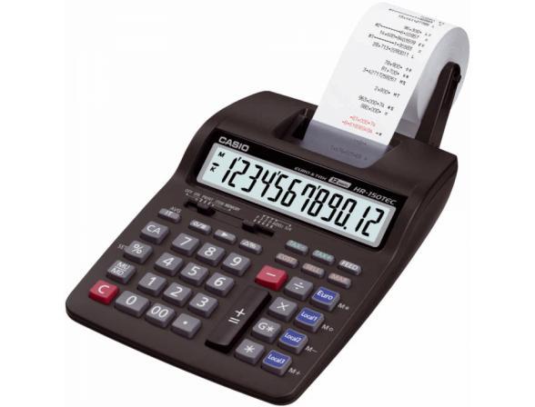 Калькулятор печатающий Casio casHR-150TEC-W1-E-EH