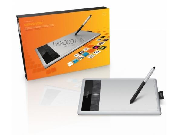 Графический планшет Wacom CTH-670S-RUPL Bamboo Fun Pen&Touch Medium (3gen)