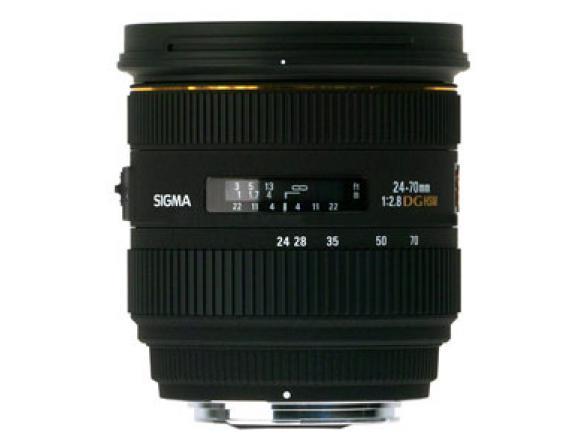 Объектив Sigma AF 24-70mm F2.8 IF EX DG HSM NIKON