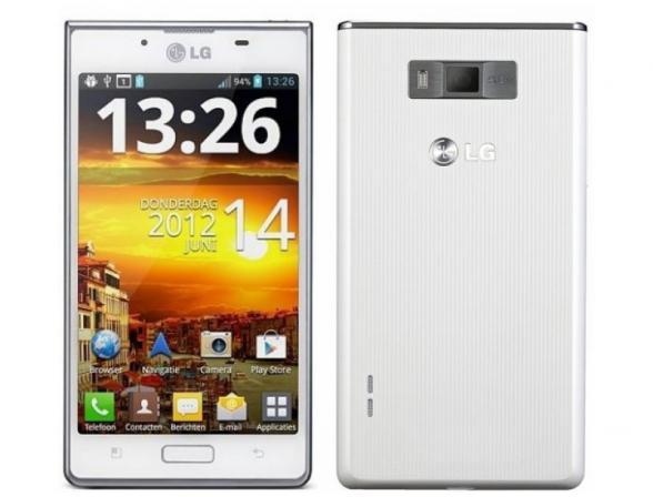 Смартфон LG Optimus L7 P705 White