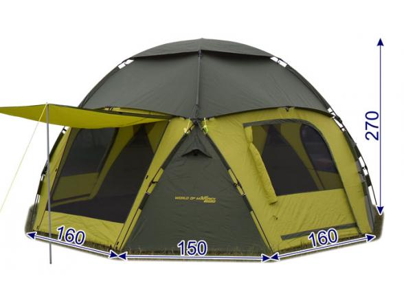 Тент-шатер Maverick Cosmos 600 (десятиместный)