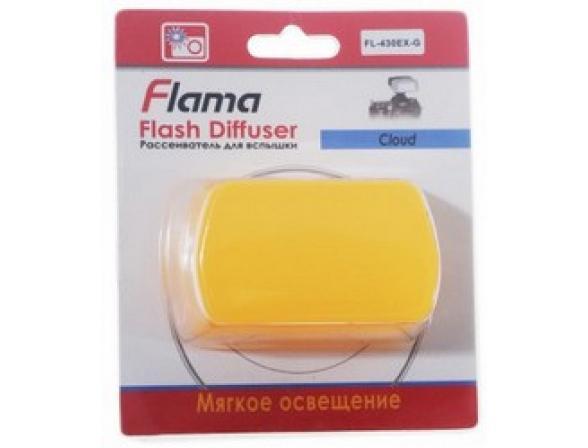 Оранжевый рассеиватель Flama FL-580EX-O