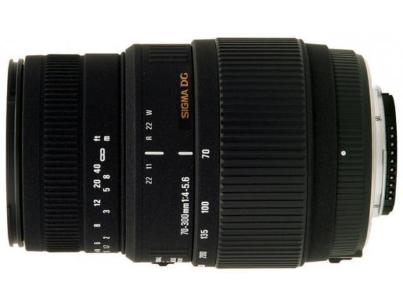 Объектив Sigma AF 70-300mm f/4-5.6 DG OS CANON*