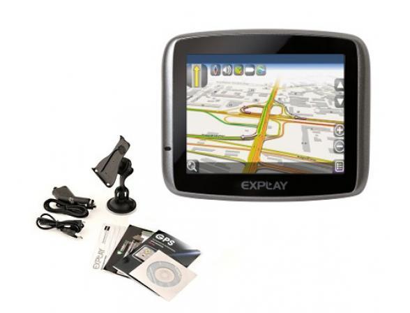 GPS-навигатор Explay PN-910