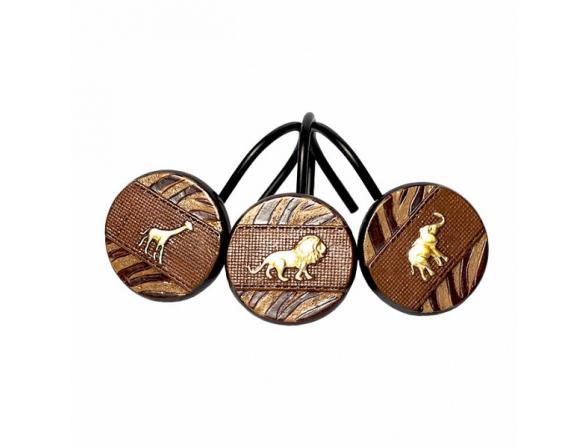 Набор из 12 крючков для шторки AVANTI Animal Parade