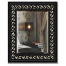Зеркало в багетной раме EVOFORM черный ардеко (45х55см) BY 1357