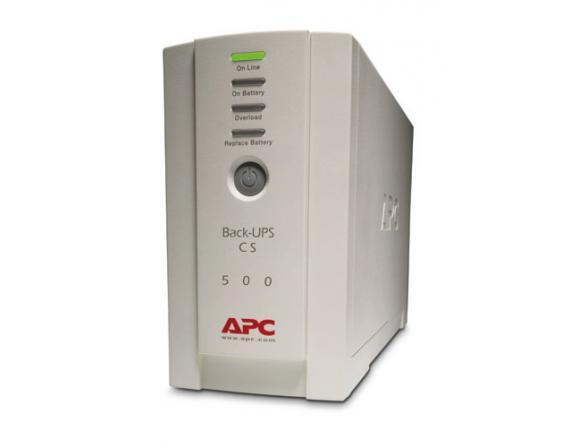 Источник бесперебойного питания APC by Schneider Electric Back-UPS 500, 230V (BK500EI)