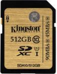 Флэш память Kingston 512 Gb SDXC Card Class 10 UHS-I U1