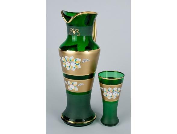 Набор для воды Crystal Art 1+6, 25101 (зеленый)