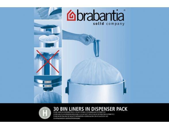 Пакет пластиковый, 40/50л 30шт Brabantia 375705