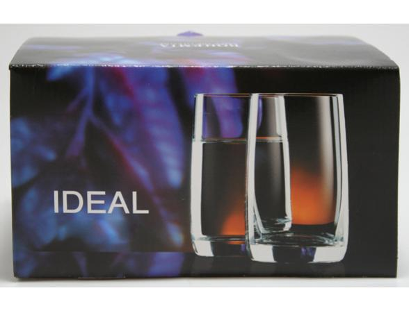 Набор стаканов для виски Bohemia Crystall Идеал/378500K/290