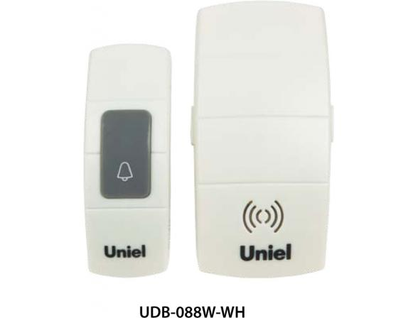 Звонок беспроводной Uniel UDB-088W-R1T1-32S-100M-WH