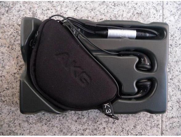 Наушники AKG K315 PEBBLE BLACK