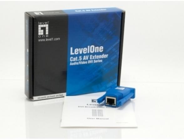 DVI-D Ресивер LevelOne ADE-8001