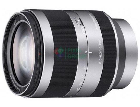 Объектив Sony 18-200 mm F/3.5-6.3 E SEL*