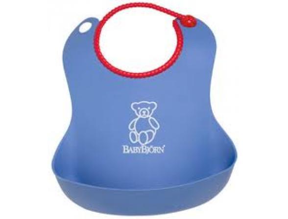 Мягкий нагрудник с карманом для крошек BabyBjorn Soft Bib