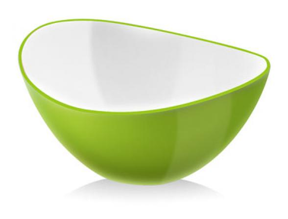 Миска Vialli Design LIVIO 16см зеленая L-16G