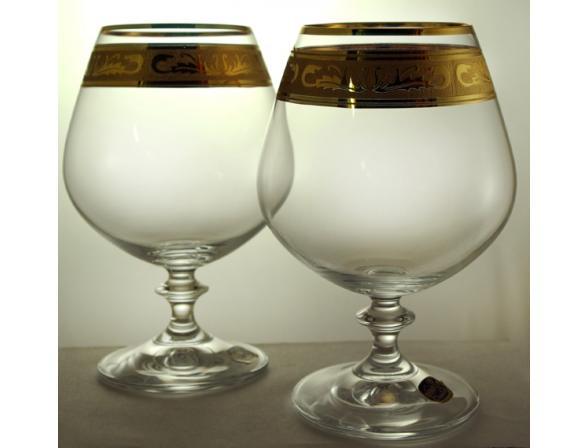 Набор бокалов для коньяка Bohemia Crystall Celebration*2/37872/400