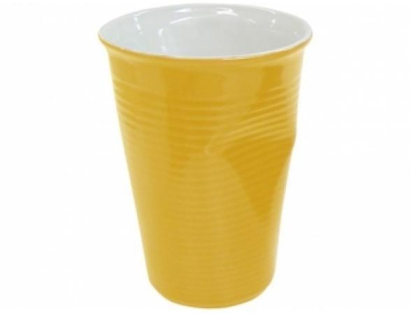 Мятый стаканчик Ceraflame 240 мл желтый